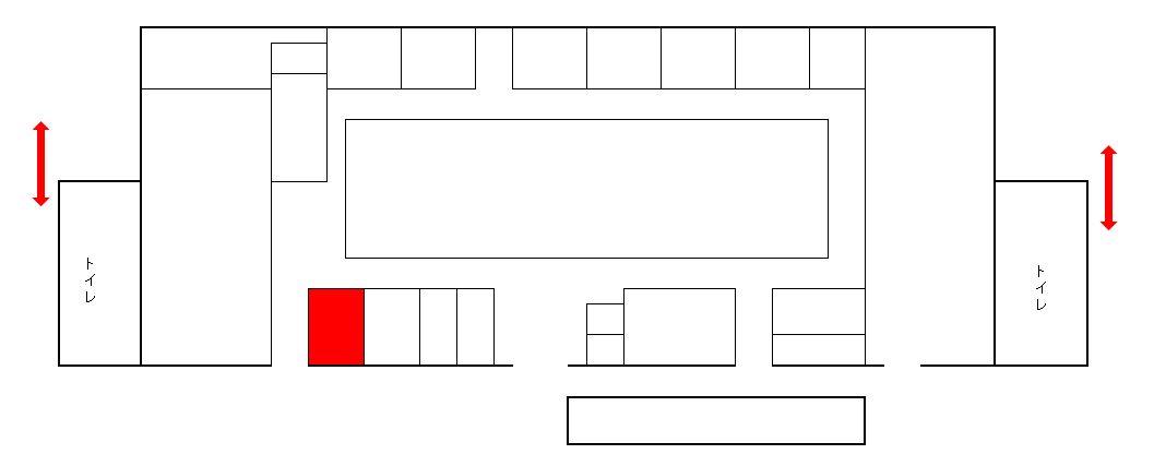 海老名サービスエリア下り線バスクーア詳細位置